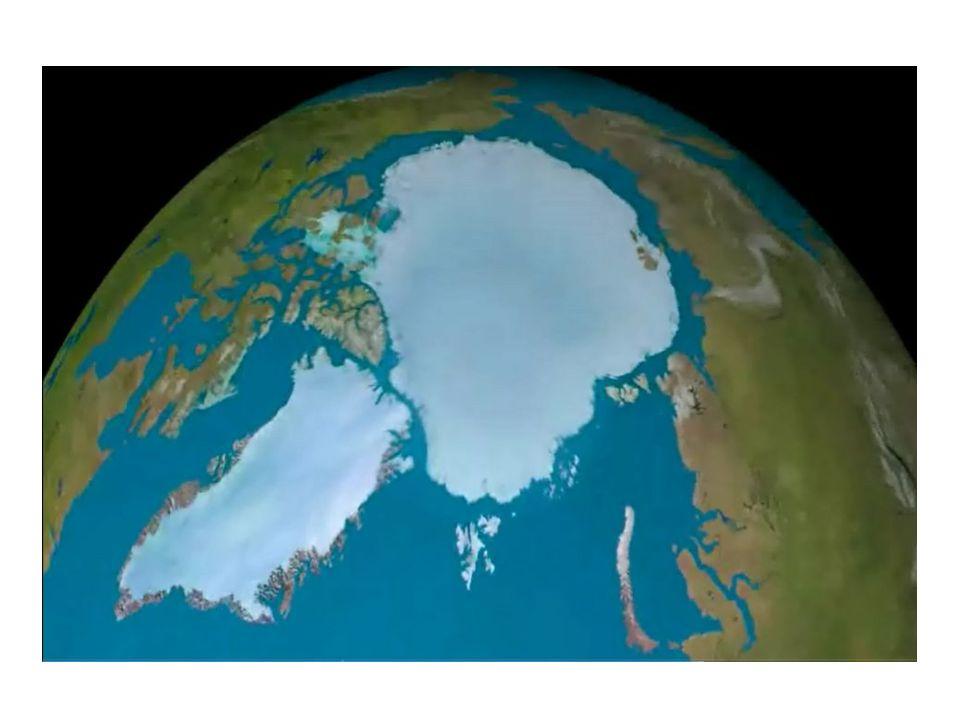 Maintenant, nous allons observer le pôle Nord de notre Terre