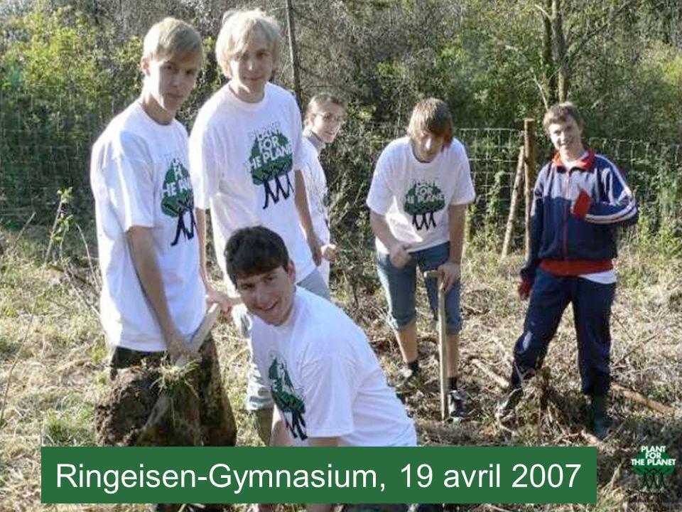 Ringeisen-Gymnasium, 19 avril 2007