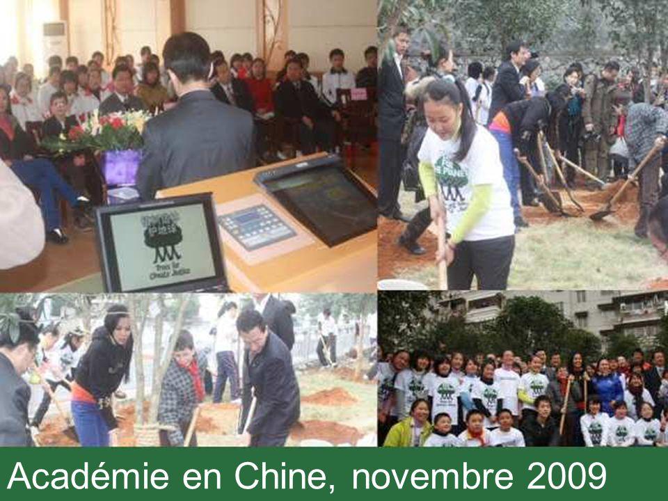 Académie en Chine, novembre 2009