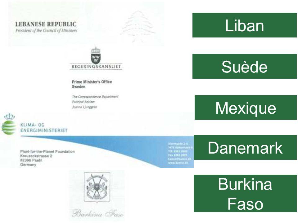 01/29/10 Liban Suède Mexique Danemark Burkina Faso 80
