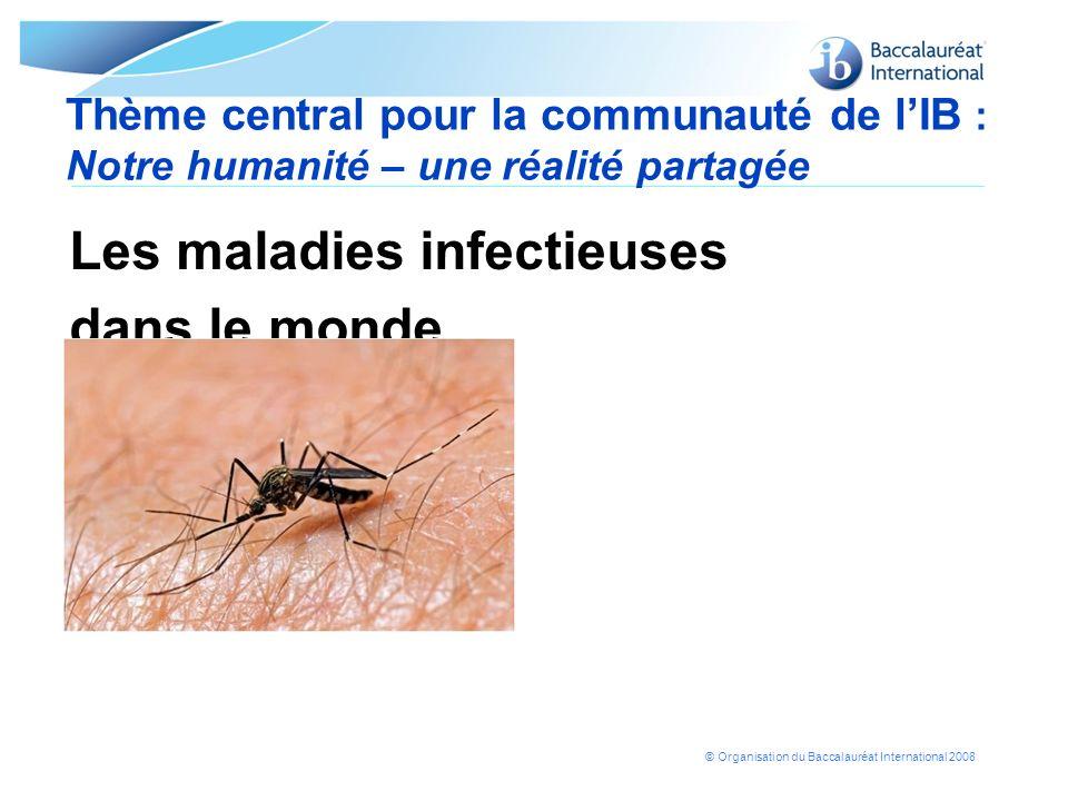 Les maladies infectieuses dans le monde