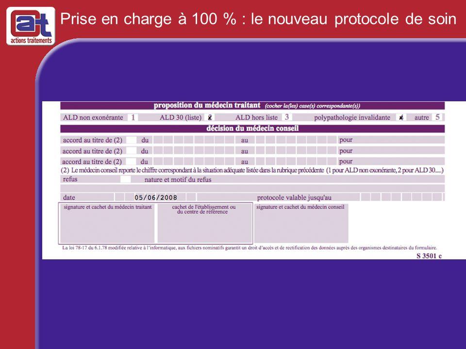 Prise en charge à 100 % : le nouveau protocole de soin