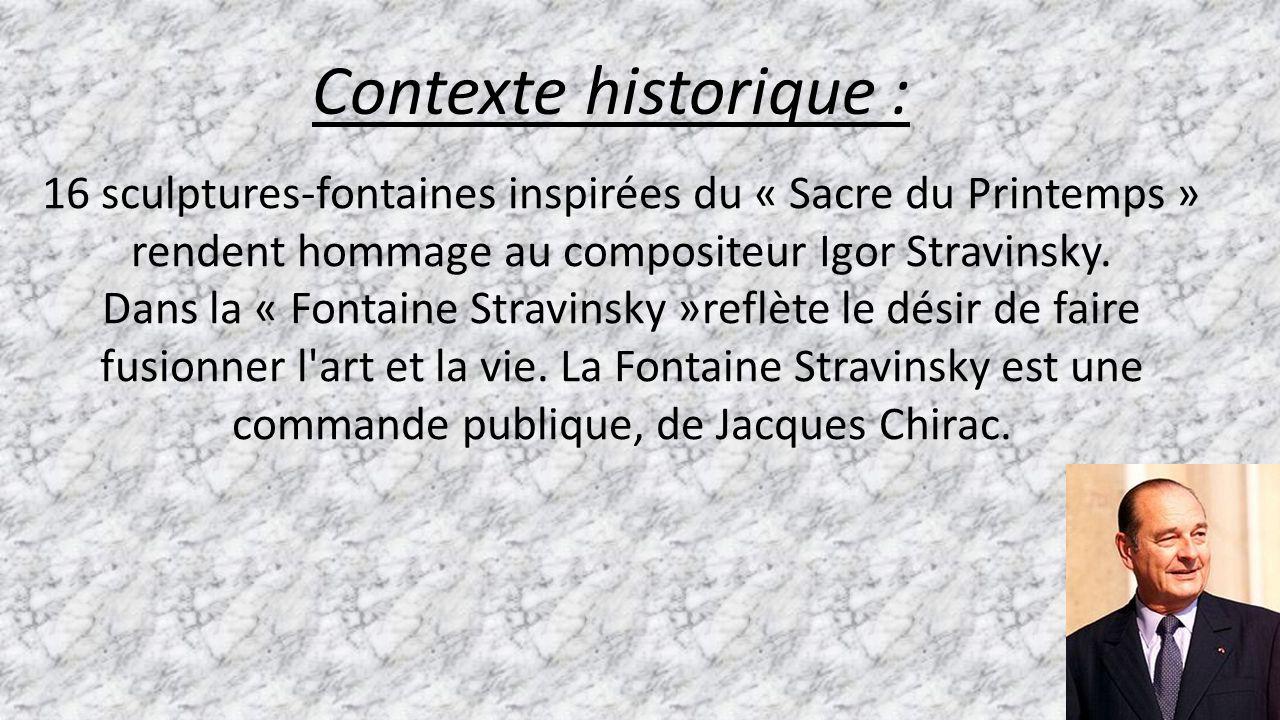 La fontaine stravinsky ppt t l charger - La chambre des officiers contexte historique ...