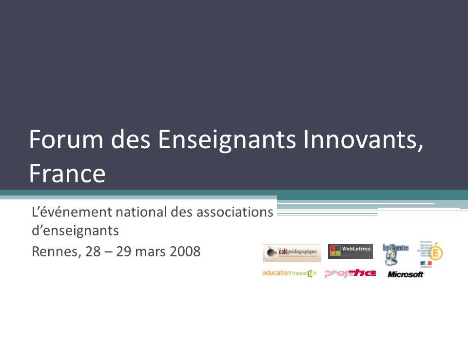 Forum des Enseignants Innovants, France