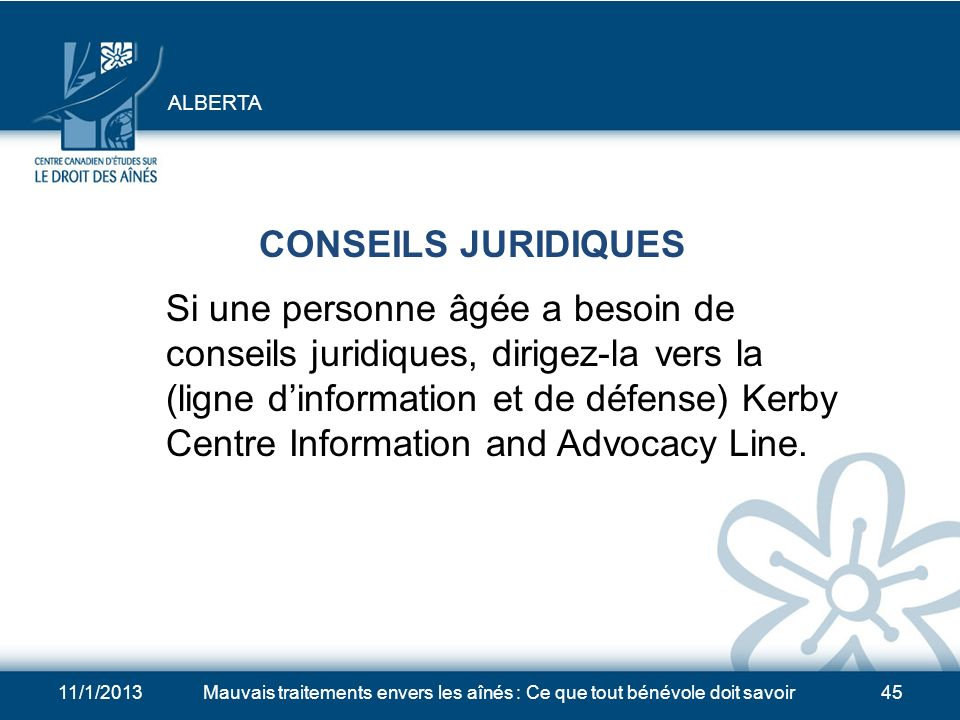 ALBERTA CONSEILS JURIDIQUES.