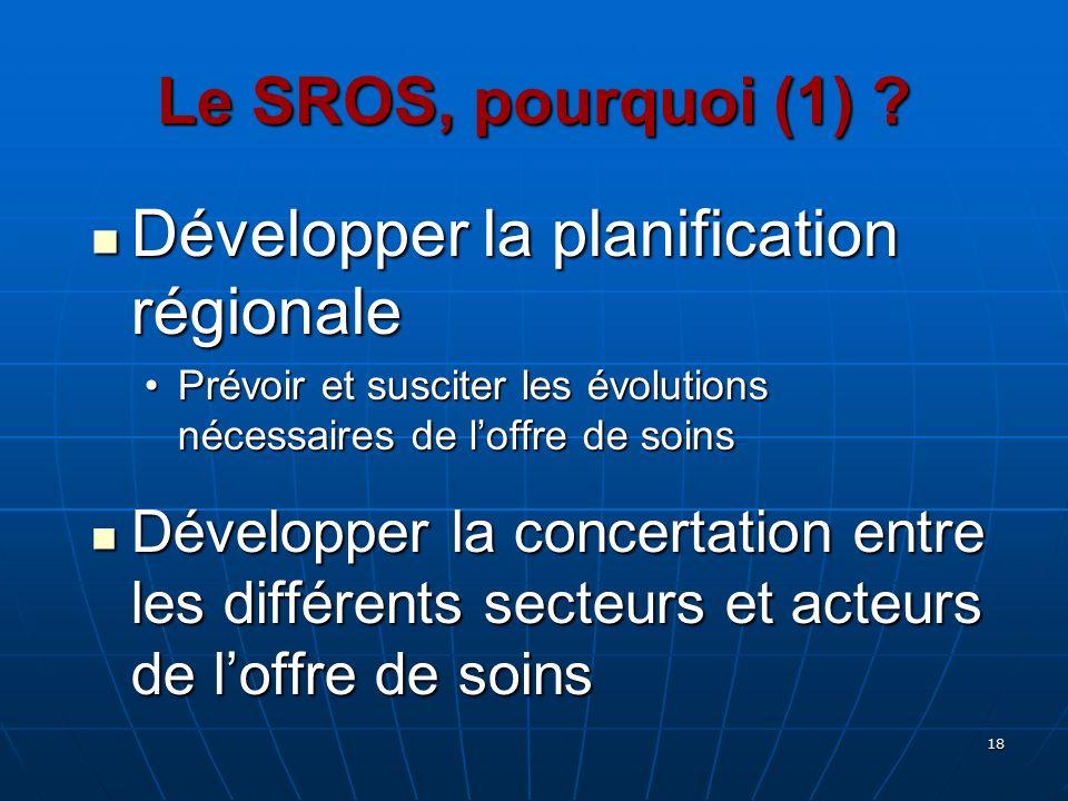 Développer la planification régionale