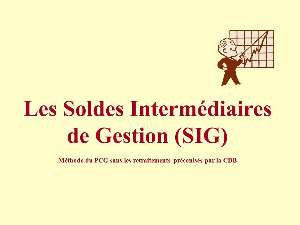 Les soldes interm diaires de gestion sig ppt video - Le comptoir des familles soldes ...