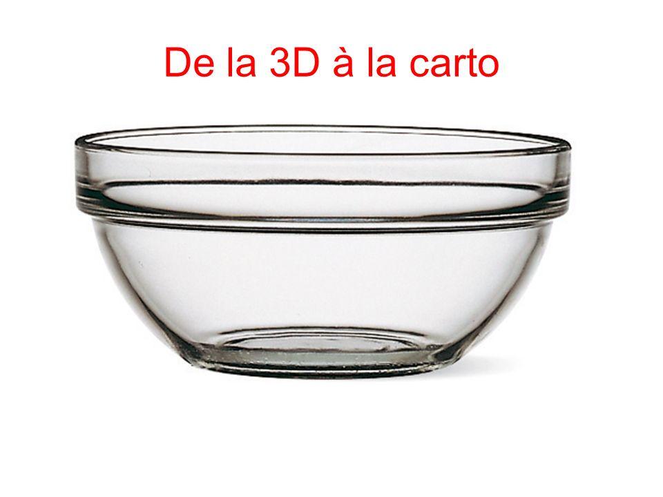 De la 3D à la carto