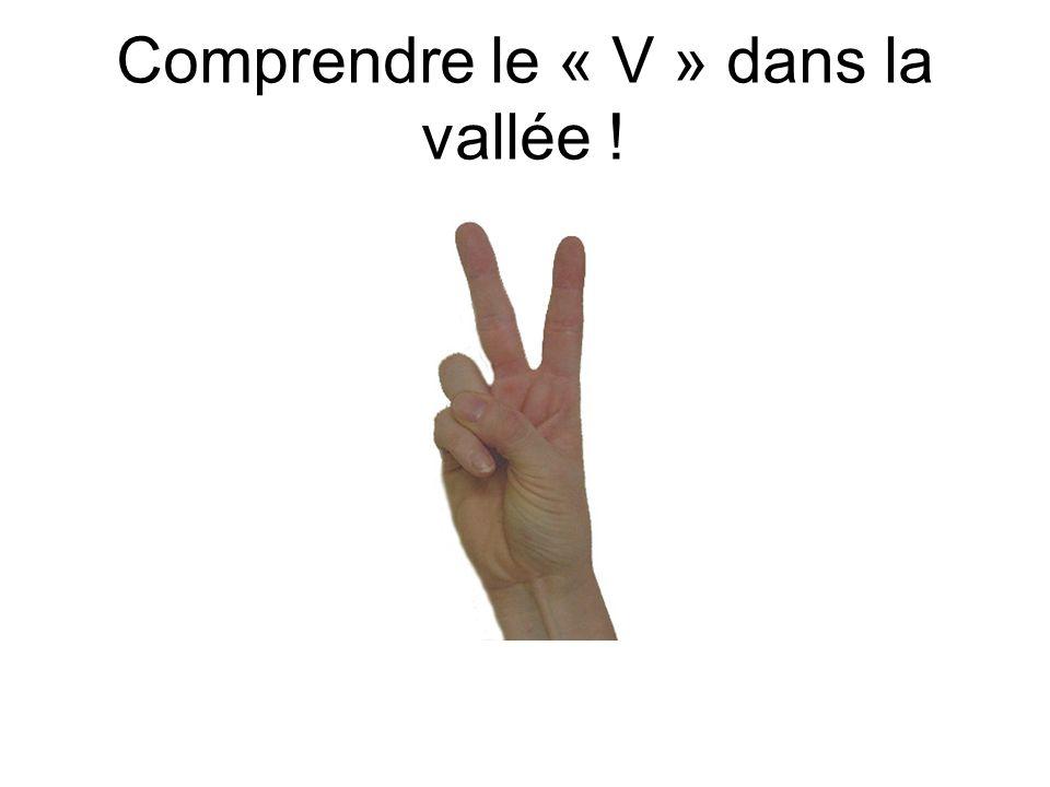 Comprendre le « V » dans la vallée !