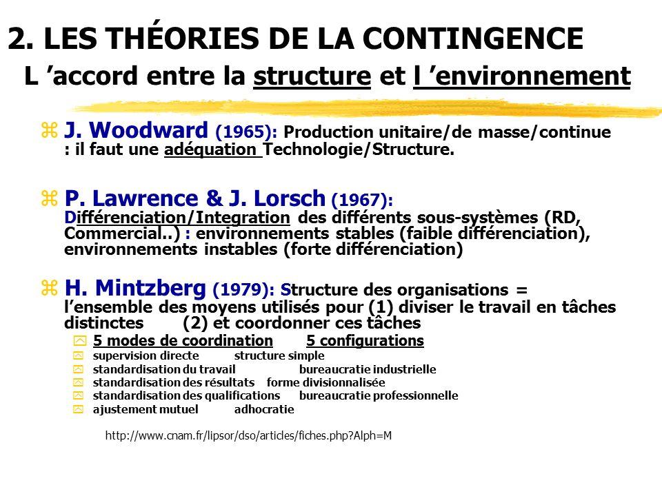 Lawrence Et Lorsch Structure
