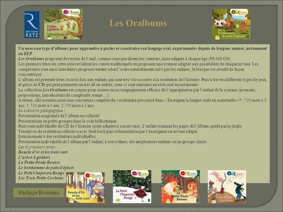 Les Oralbums Philippe Boisseau