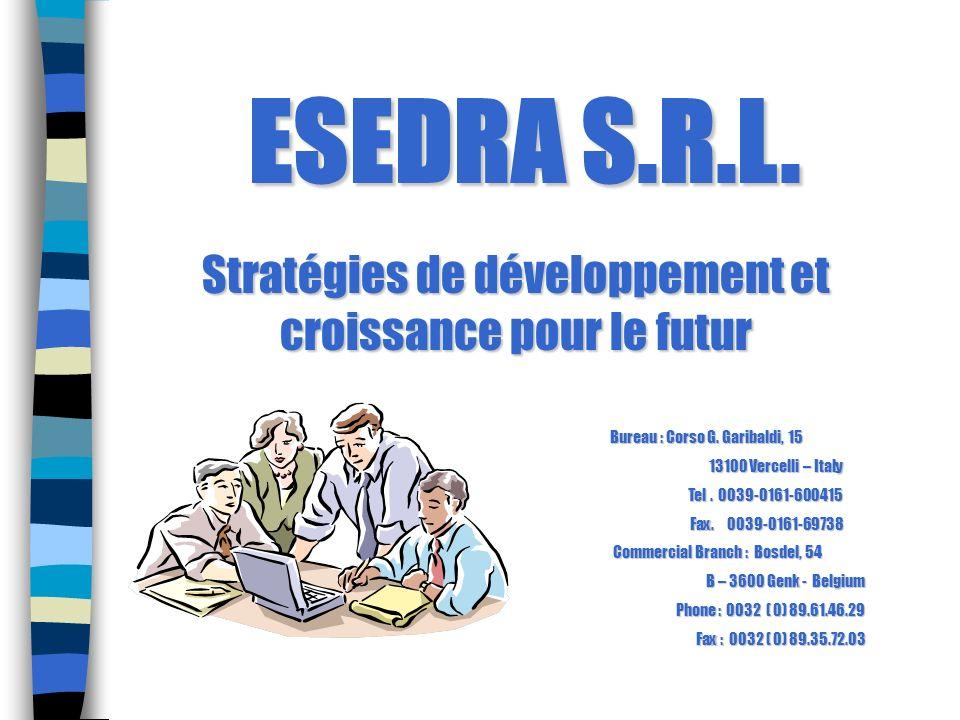 ESEDRA S.R.L. Stratégies de développement et croissance pour le futur