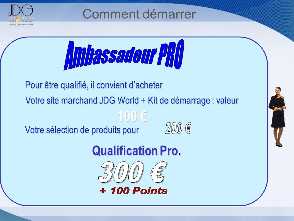 Votre site marchand JDG World + Kit de démarrage : valeur 100 €