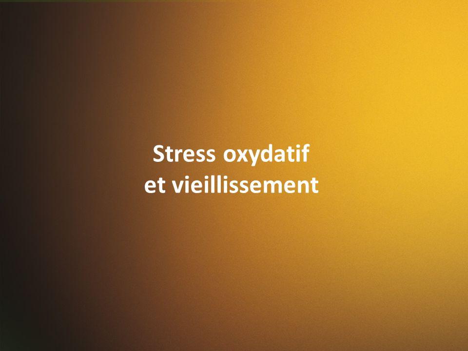 Stress oxydatif et vieillissement