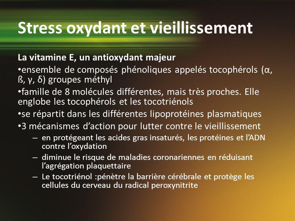 Stress oxydant et vieillissement