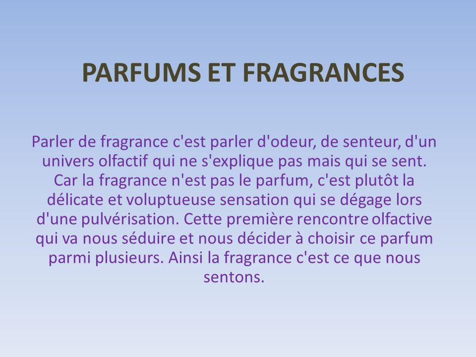 PARFUMS ET FRAGRANCES