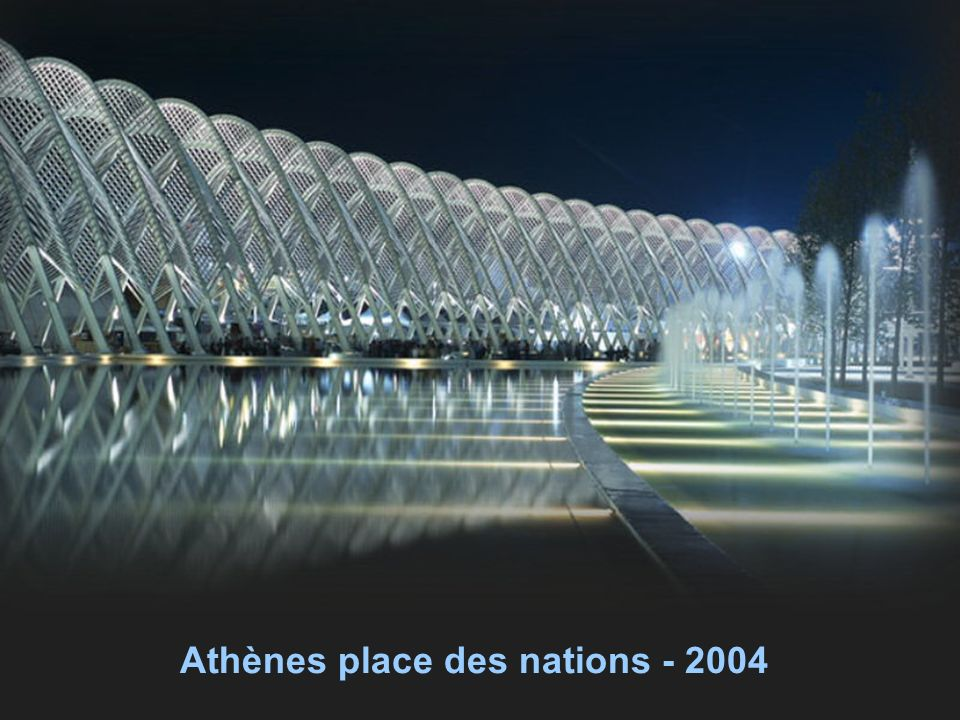 Athènes place des nations - 2004