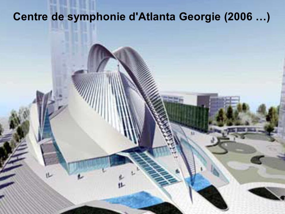 Centre de symphonie d Atlanta Georgie (2006 …)