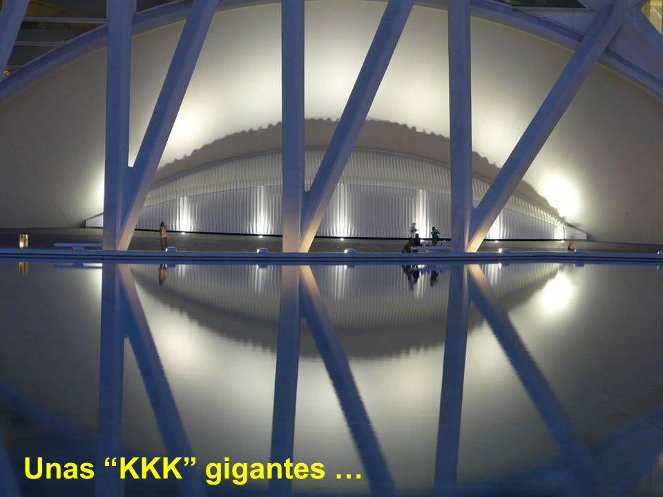 Unas KKK gigantes …