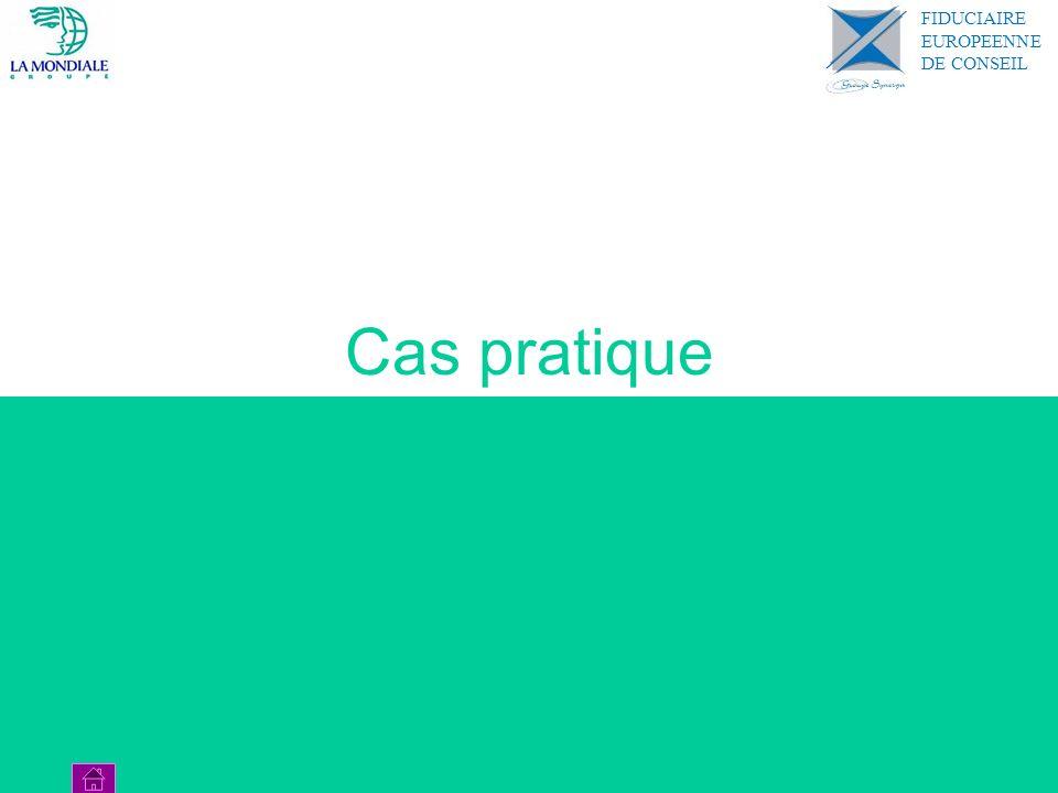 Cas pratique FIDUCIAIRE EUROPEENNE DE CONSEIL