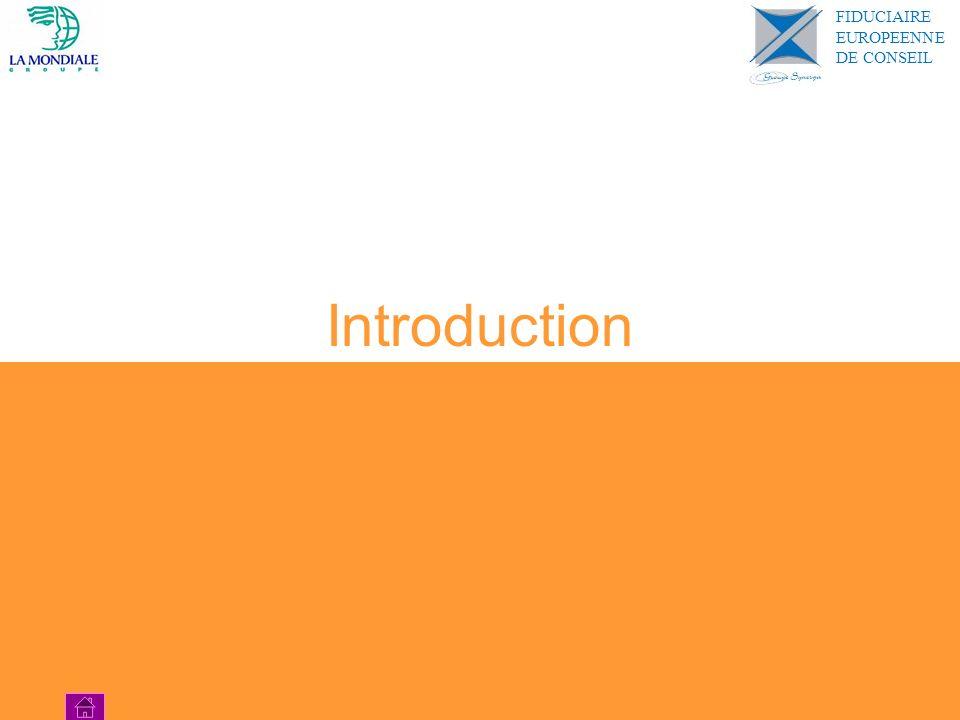 Introduction FIDUCIAIRE EUROPEENNE DE CONSEIL