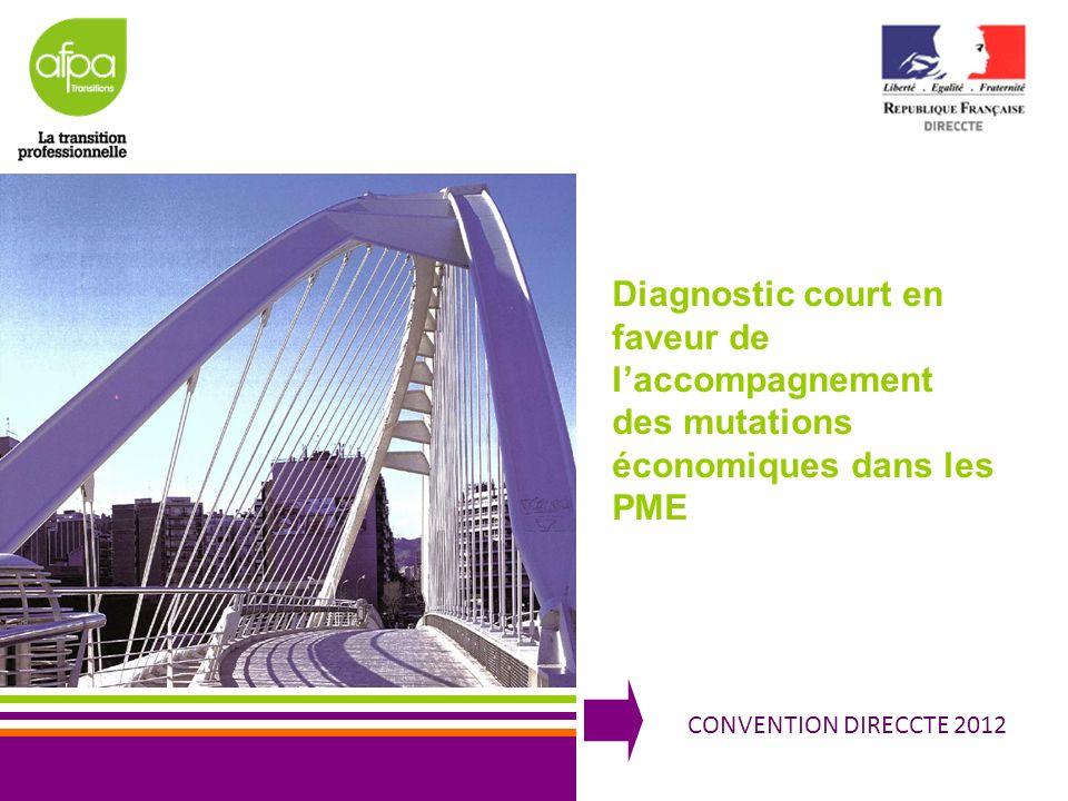 Diagnostic court en faveur de l'accompagnement des mutations économiques dans les PME