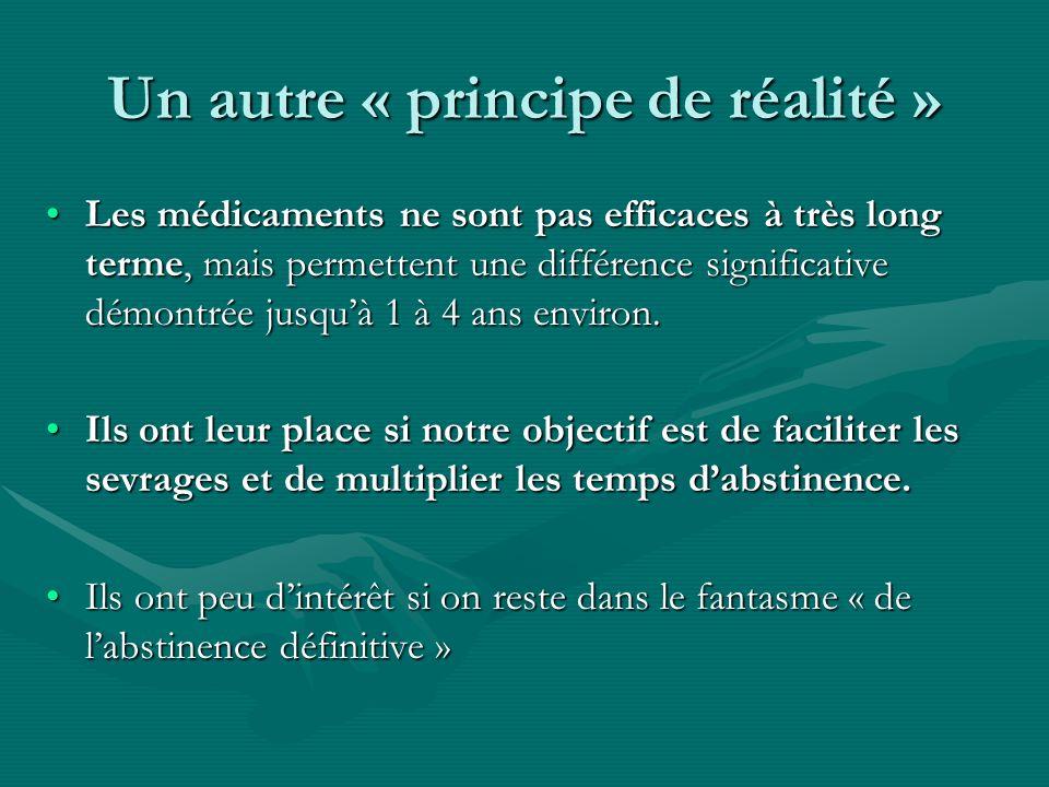 Un autre « principe de réalité »
