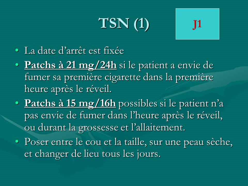 TSN (1) J1 La date d'arrêt est fixée
