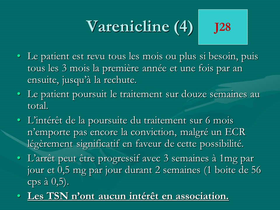 Varenicline (4)J28.