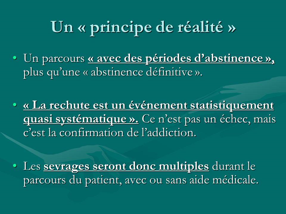Un « principe de réalité »