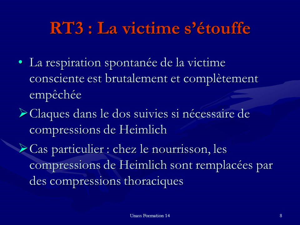 RT3 : La victime s'étouffe