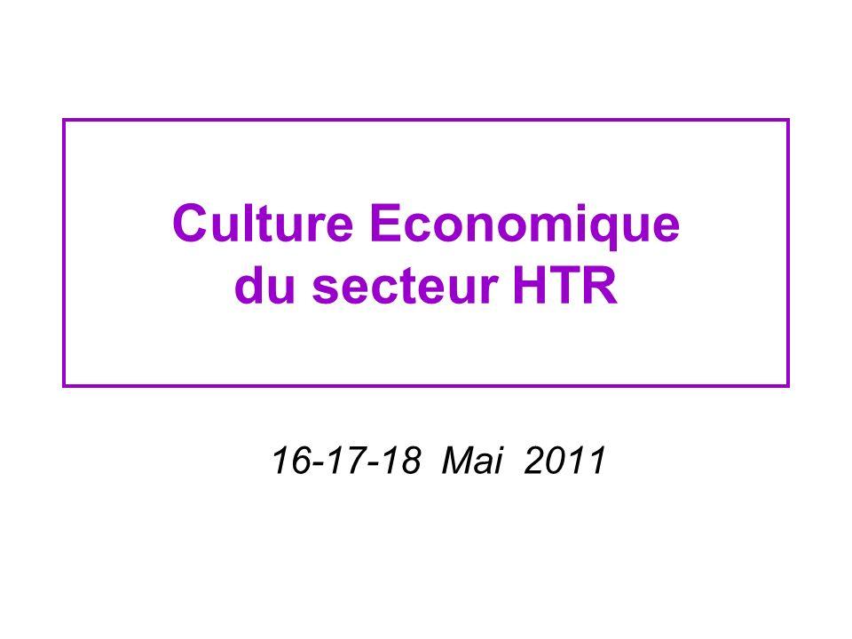 Culture Economique du secteur HTR