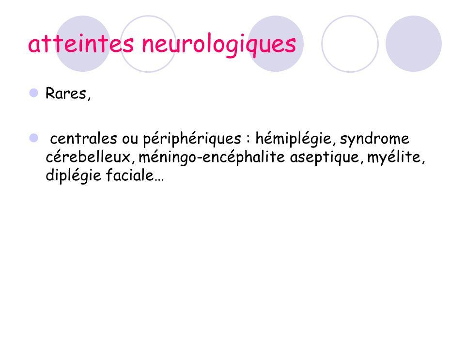 atteintes neurologiques