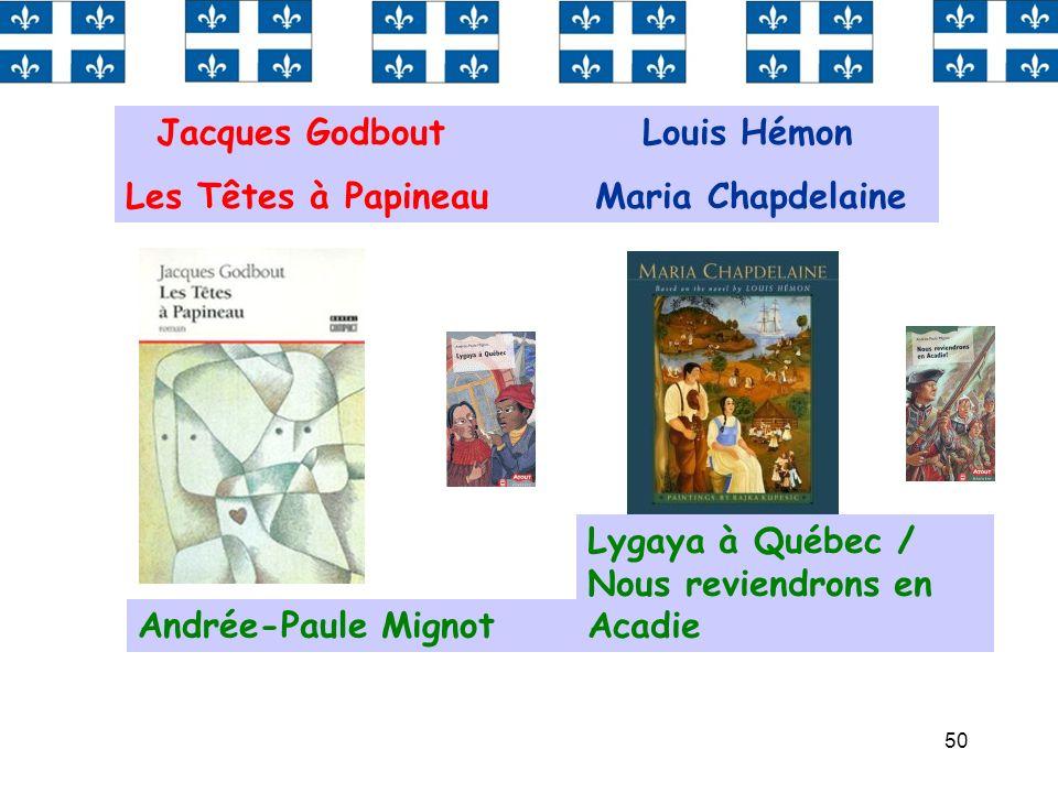 Jacques Godbout Louis Hémon