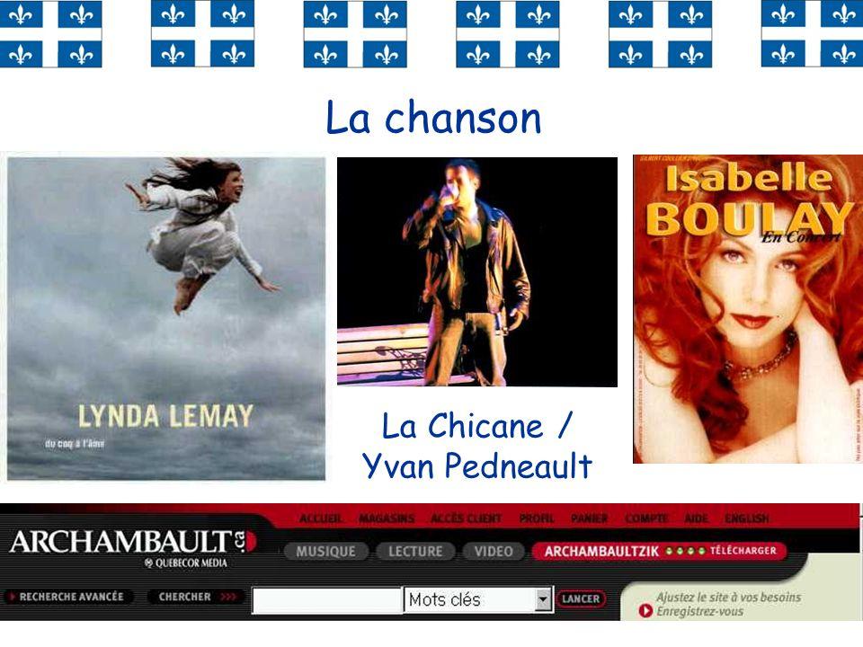 La chanson La Chicane / Yvan Pedneault