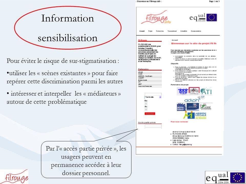 Information sensibilisation
