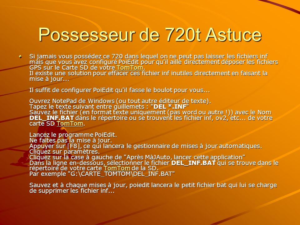Possesseur de 720t Astuce