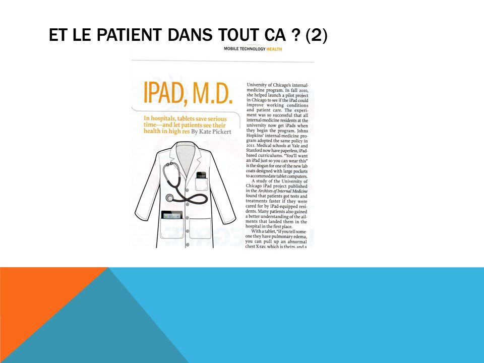 ET le patient dans tout ca (2)