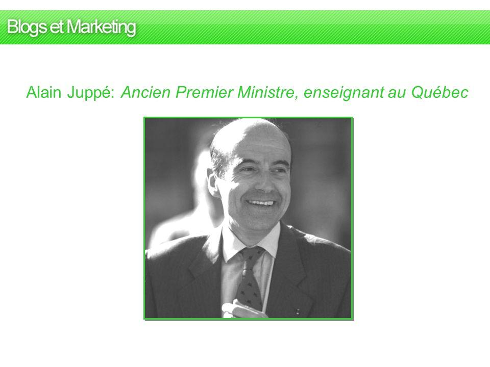 Alain Juppé: Ancien Premier Ministre, enseignant au Québec