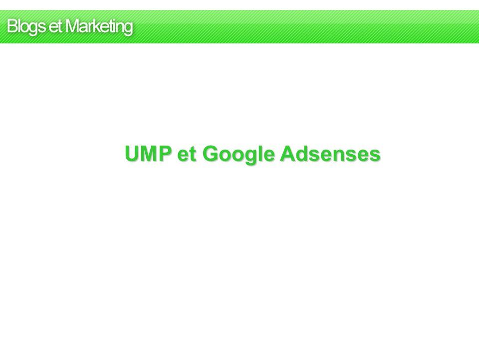UMP et Google Adsenses