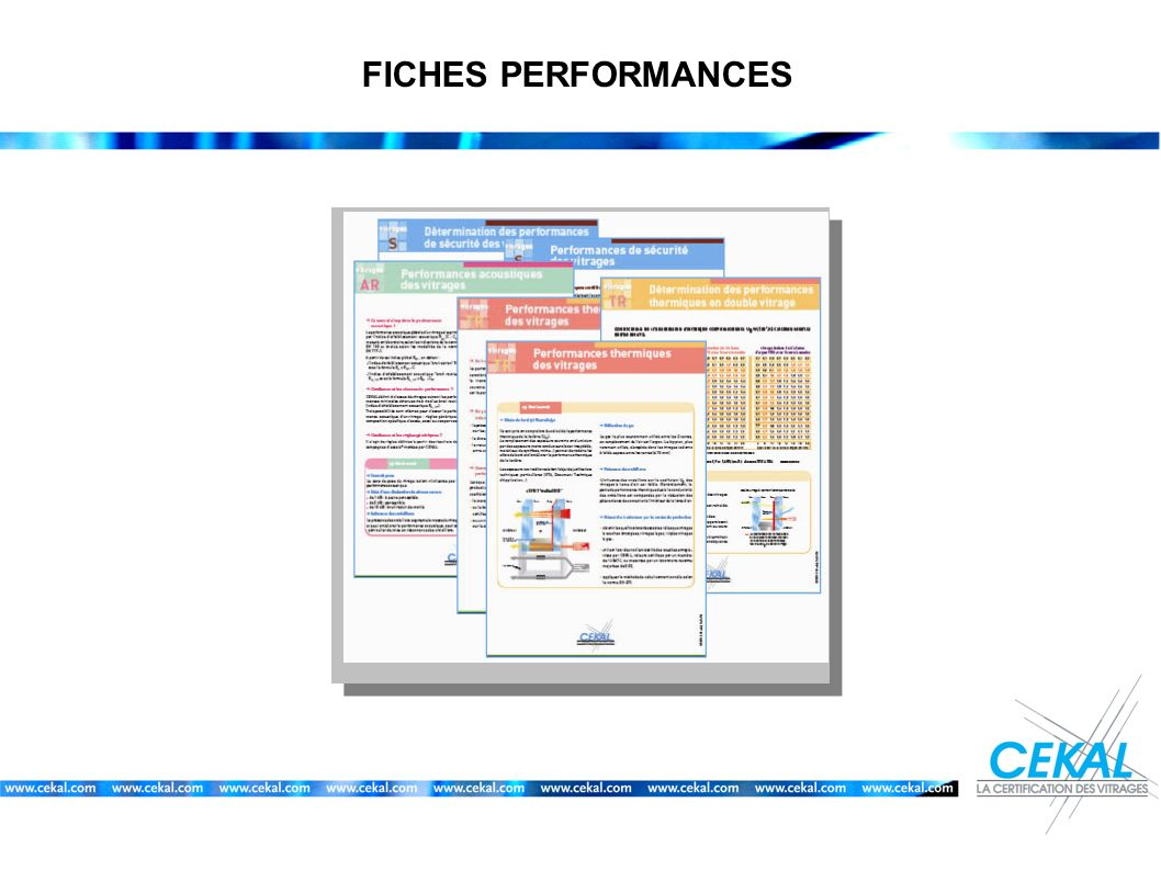 FICHES PERFORMANCES 12