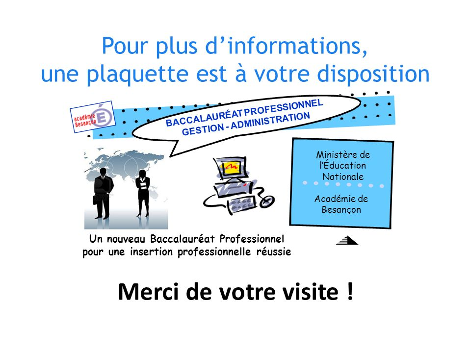 BACCALAURÉAT PROFESSIONNEL GESTION - ADMINISTRATION
