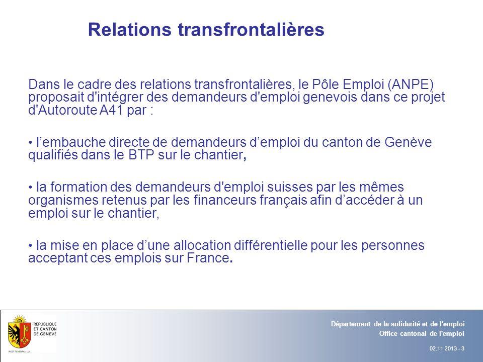 Relations transfrontalières