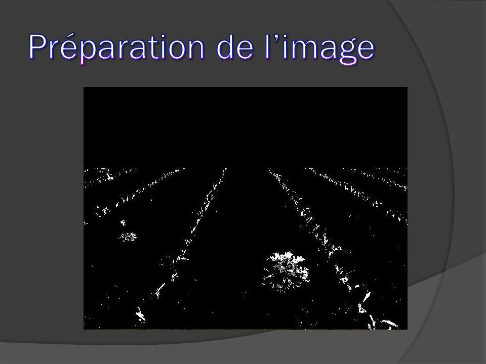 Préparation de l'image