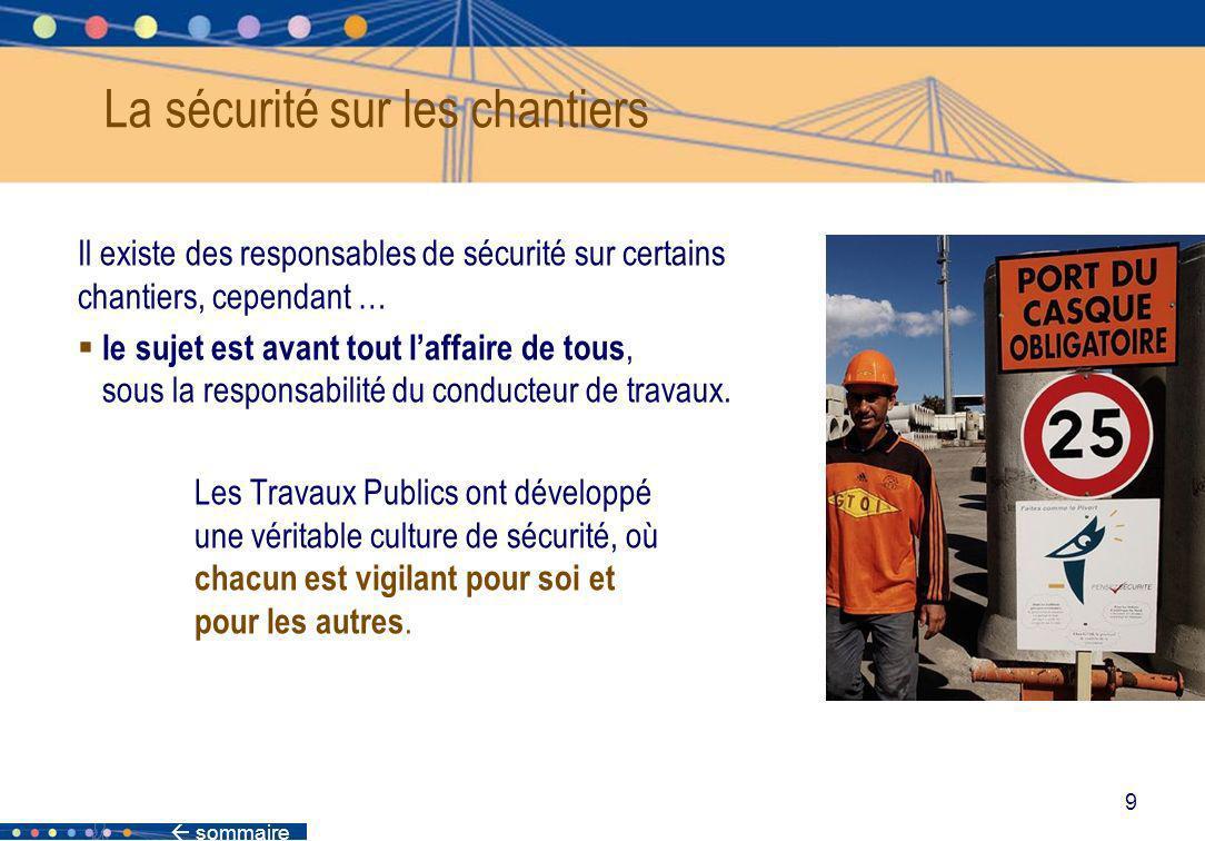 La sécurité sur les chantiers