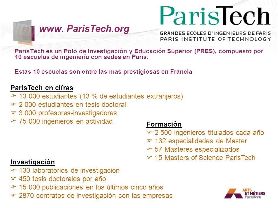 www. ParisTech.org ParisTech en cifras