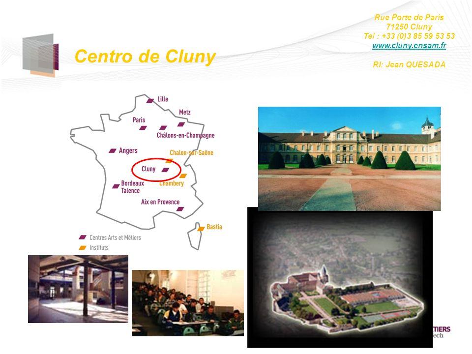 Centro de Cluny Rue Porte de Paris 71250 Cluny