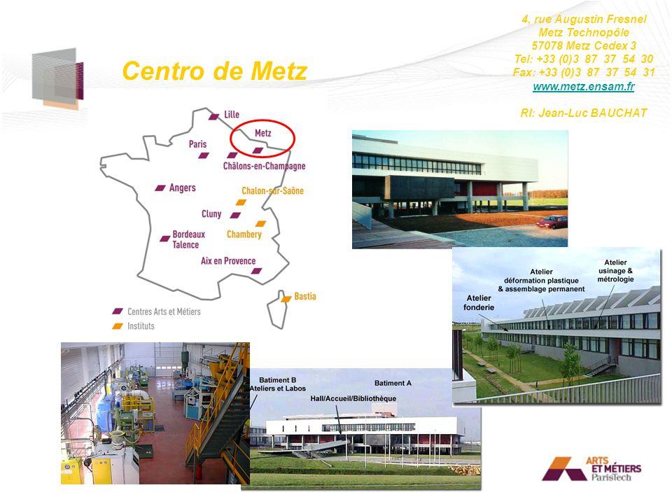 Centro de Metz 4, rue Augustin Fresnel Metz Technopôle