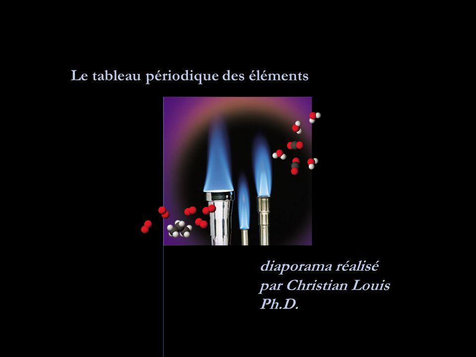 Le tableau périodique des éléments