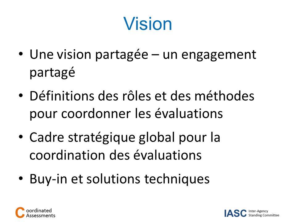 Vision Une vision partagée – un engagement partagé